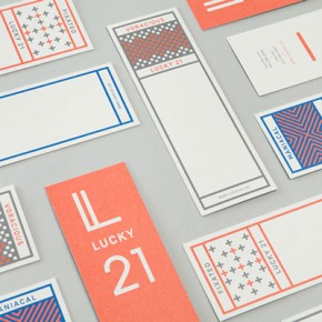 Lucky 21 Brand Identity by Blok Design