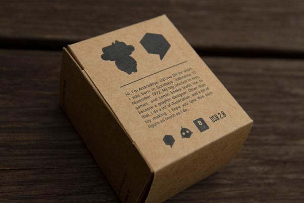 Backside of the packaging