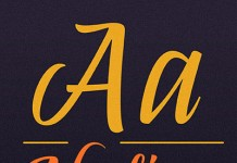 Abelina script font from Sudtipos