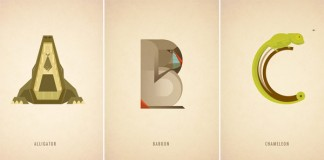 Animal Alphabet Illustrations by Marcus Reed