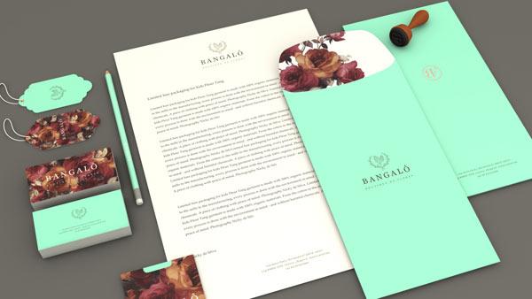Bangalô - Boutique de Flores - art direction and branding by Estúdio Alice.