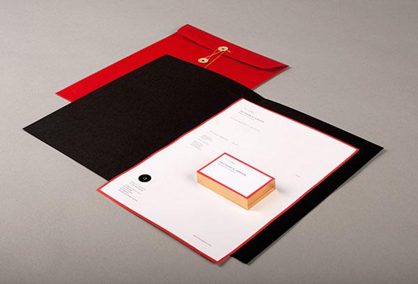 Deutsche & Japaner - studio corporate identity and stationery design.