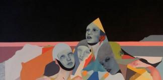 Diamonds - Oil painting by Beata Chrzanowska