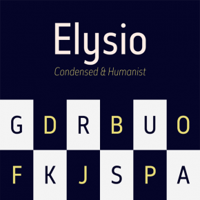 Elysio Font Family from Type Dynamic