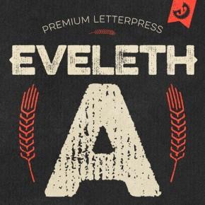 Eveleth - Vintage Letterpress Font Family