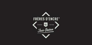 Frères d'Encre Tattoo Shop logo design by Carolane Godbout and Sebastien Dust Leblanc