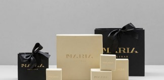 Maria Salinas - Mexican jewelry design shop brand packaging.