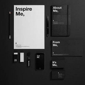 "Self-Promotional Rebranding of Studio ""Me"""