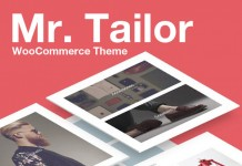 Mr. Tailor WooCommerce Shop Theme