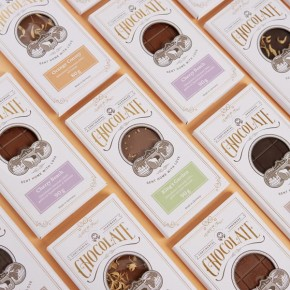 Gourmet Chocolate Packaging Design