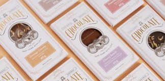 Packaging design by Studio Chapeaux for finest chocolates by Lapp & Fao.