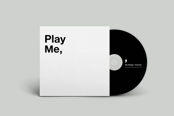 """Play Me,"" CD cover"