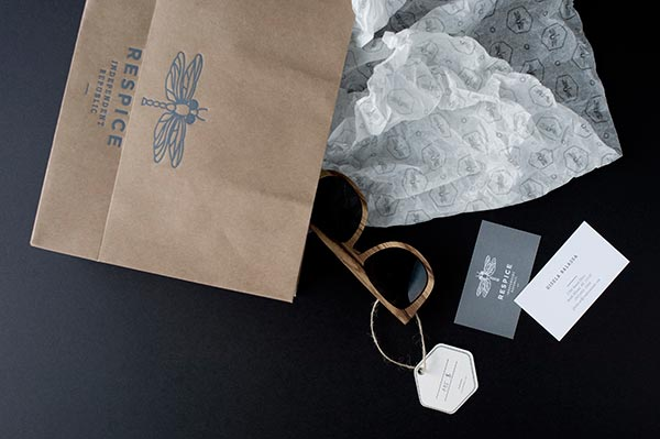 Branding for a concept store that offers selected fashion items from around the globe.