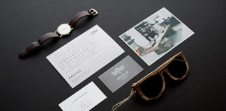 Respice concept store visual identity and brand material by Eszter Laki