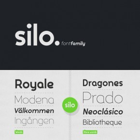 The Silo Font Family from TypeUnion