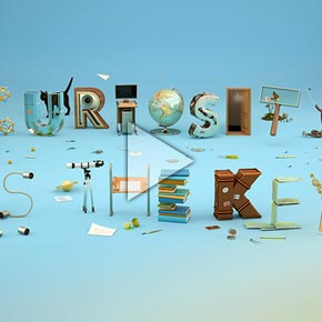 THE POOOL - OFFF-FESTIVAL - 3D Visuals and Animation