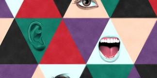 Triangle Sens - poster design for Curioos