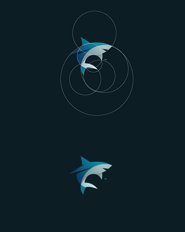 Shark logo creation by Tom Anders Watkins