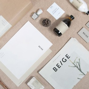 Beige - Hygiene Products - Branding by Josep Puy