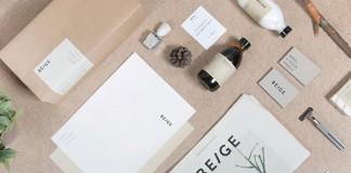 Beige - art direction, branding, graphic design by Josep Puy.