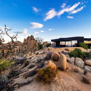 Black Desert House in California by Oller & Pejic Architecture
