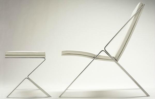 Elle Chair – Elegant Interior Design by John Niero