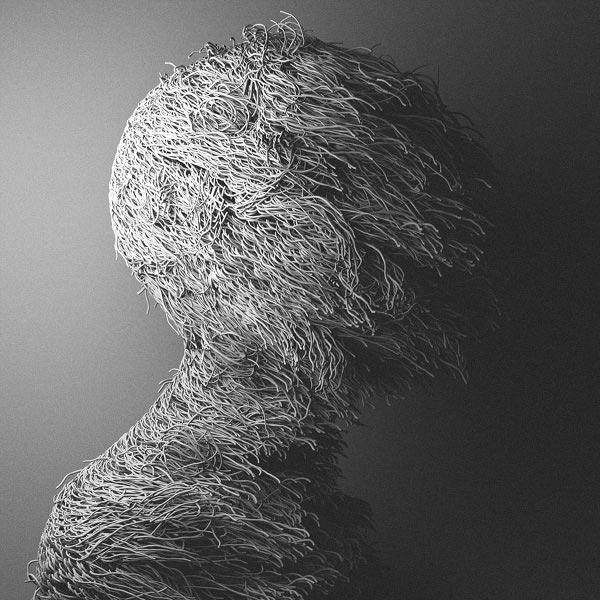 Experimental digital artworks by Can Pekdemir