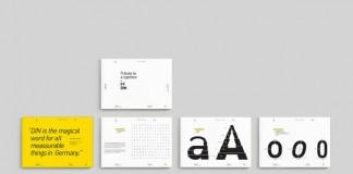 FF DIN - Tribute card set by Erik Berger Vaage