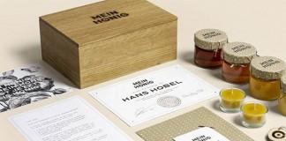 Mein Honig – personal branding project by Thomas Lichtblau of studio Wild from Vienna, Austria.