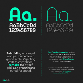 Silo Slab Font Family from TypeUnion