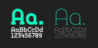 Silo Slab, a fluid slab serif typeface from TypeUnion.