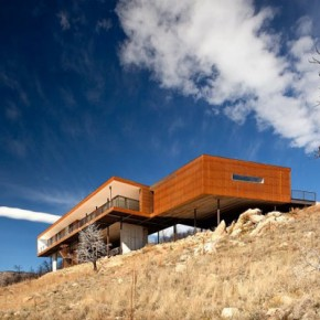Sunshine Canyon Residence in Boulder, Colorado