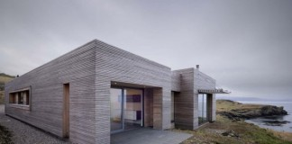 Tigh Port na Long house on the Isle of Skye, Scotland by Dualchas Architects.