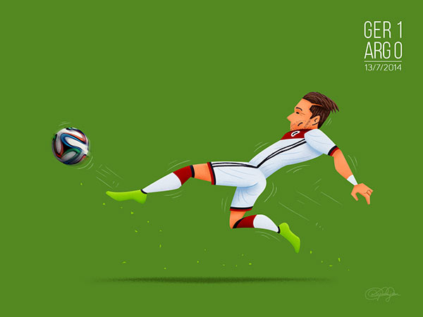 Super Mario - Mario Götze's goal crowned Germany as the World Champions 2014.
