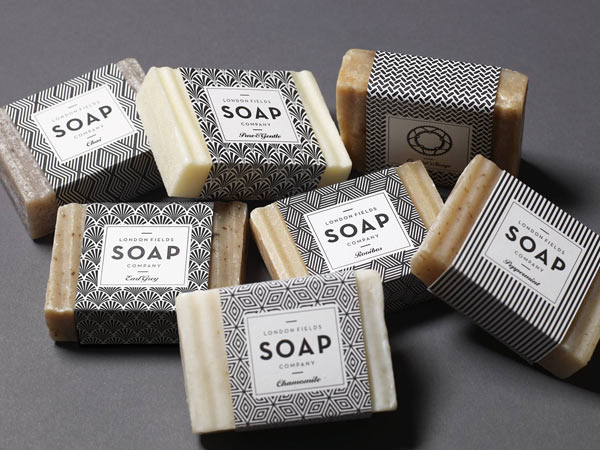 London Fields Soap Company - brand design by One Darnley Road.