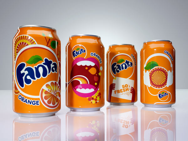 Fanta Visuals by Studio Office