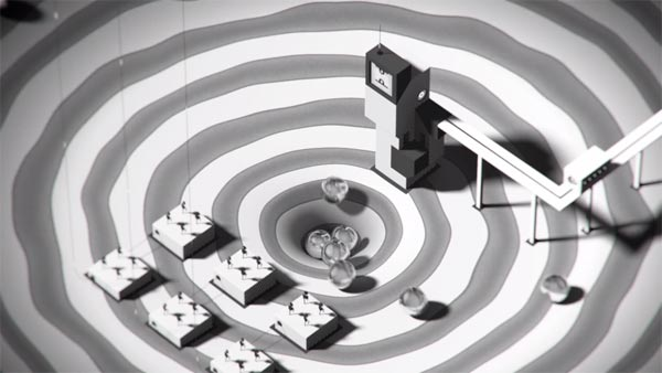 This surreal animated short film impresses with amazing black and white animations.
