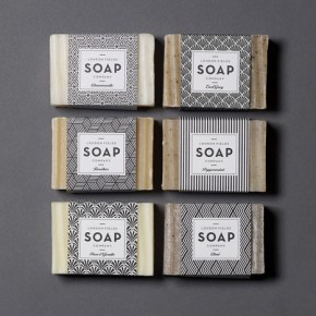 London Fields Soap Company - Art-Deco Brand Design