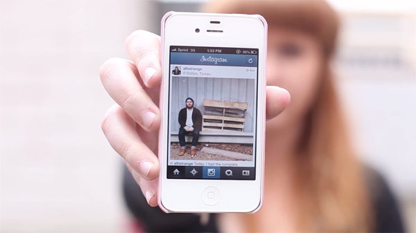 """Scene from """"Instagram Is"""", a film by Technopaul Productions."""