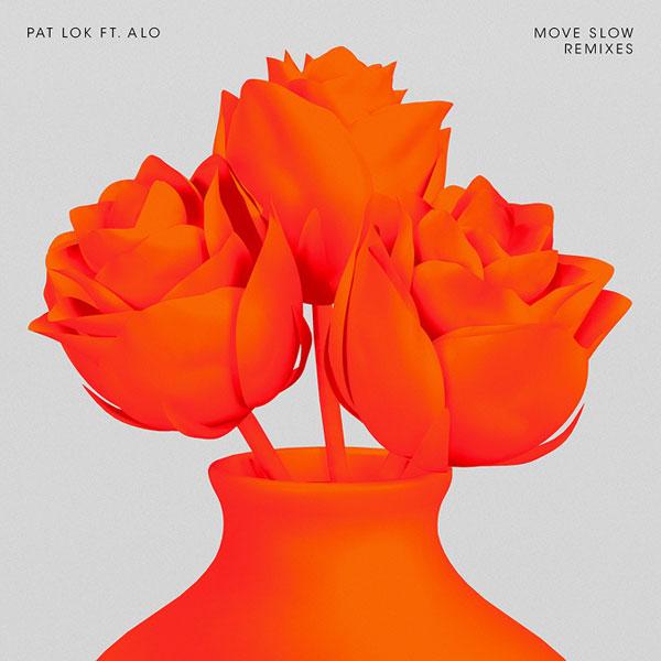 Move Slow Remixes - CD Cover Design