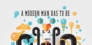 A modern man has to be - infographic