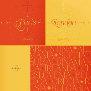 Aire - Festive Display Font Family from Lián Types
