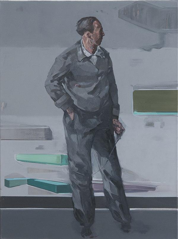 Ausl%c3%b6ser 1 3 80 x 60 cm oil on canvas created in 2011