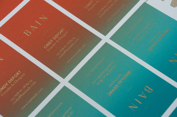 screen printed business cards clouse up - Screen Printing Business Cards