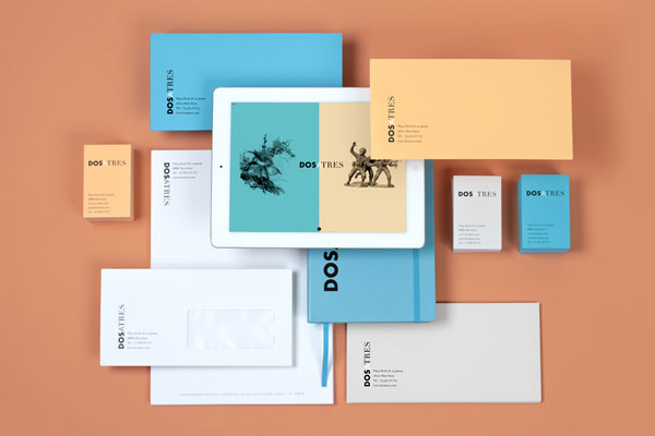 Corporate identity design including stationery and communication design.
