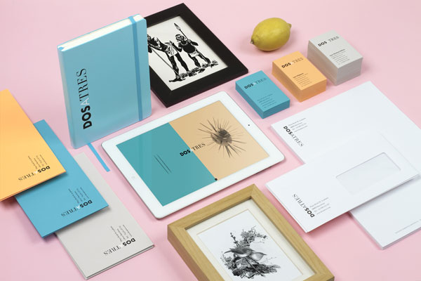 Dosatres – Corporate Identity Design by Comité