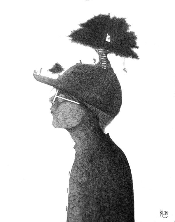 Elliott - Illustration by Klemt