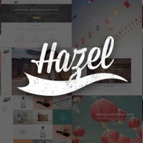 Hazel WordPress Theme with Multiple Styles
