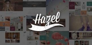 Hazel WordPress theme for multiple purpose.