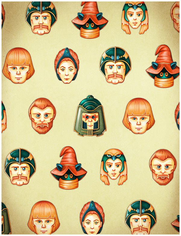 He-Man and the Masters of the Universe – Free Background Illustrations